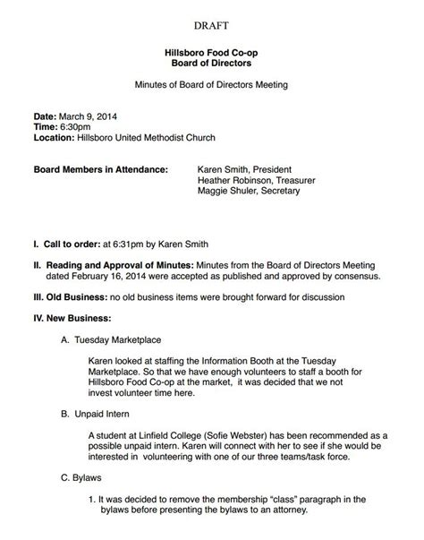 sle minutes of meeting template investment committee minutes template 28 images sle