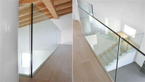 parapetti interni parapetti da interno il vetro resistente che arreda