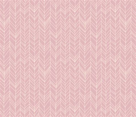 wallpaper dusky pink featherland dusty pink cream fabric leanne spoonflower
