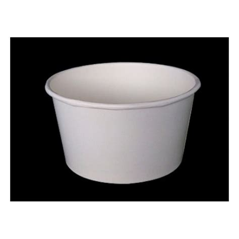 Paper Bowls - 850ml paper bowl white 50pcs x 12slv