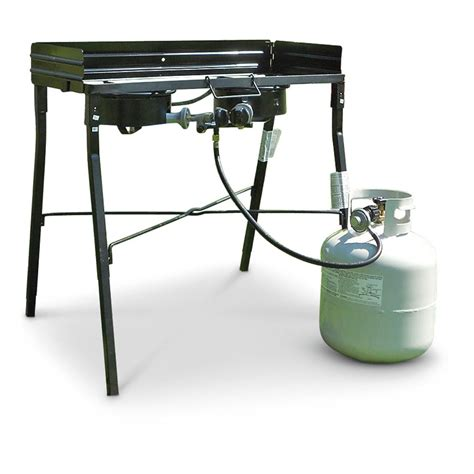 Kompor Gas Portable Backpacking Cing Stove king kooker 30 quot portable propane stove 581676 stoves at sportsman s guide