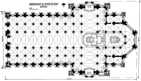milan cathedral floor plan milan cathedral floor plan first principles gabriele