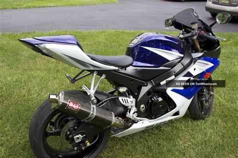 Suzuki Gsxr 1000 Blue White 2005 Suzuki Gsxr 1000 Blue White Never Raced