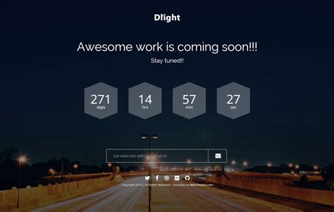 free coming soon html templates free coming soon bootstrap template webthemez
