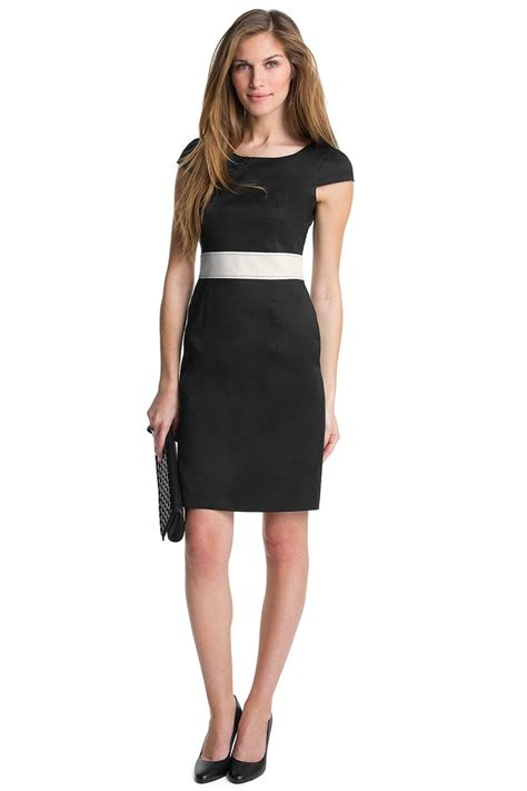 black dress with white belt what to wear formal