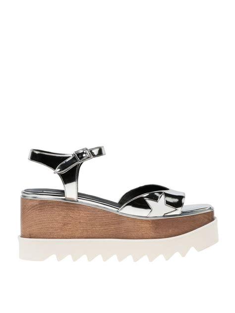 Stella Mccartney Mirror Shoes 3 stella mccartney elyse appliqu 233 wood platform