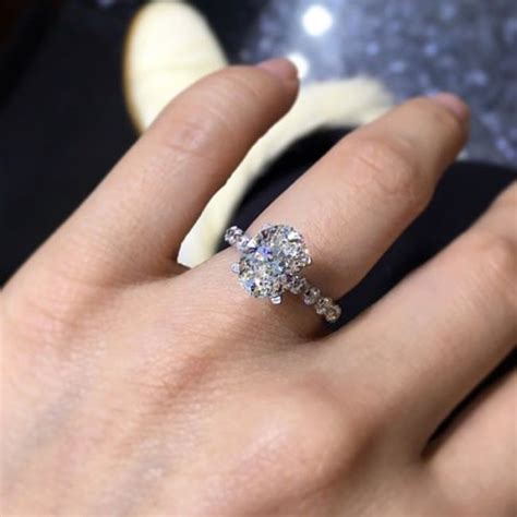 Prince Gets A 5 Carat by 2 5 Carat Oval Ring 60 Vintage Antique
