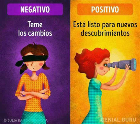 imagenes positivas y negativas 11 diferencias entre personas positivas y negativas taringa