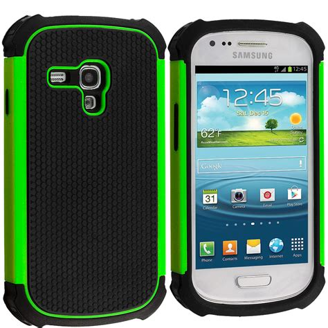 for samsung galaxy s3 mini hybrid rugged matte hard soft