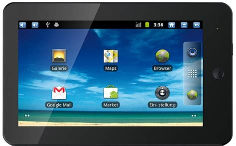 Tablet Samsung X4 touchlet 1 ghz tablet pc x3 x4 mit android 2 3 und hdmi