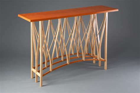 dreamcatcher hall table custom furniture seth rolland