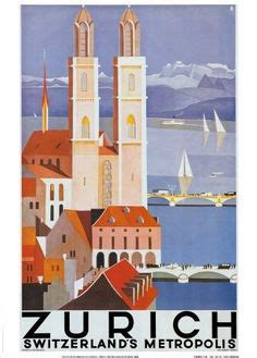 art design zurich swiss posters on pinterest vintage travel posters