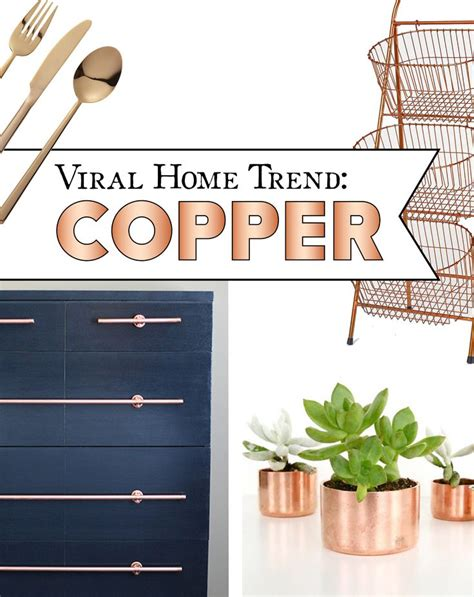 copper home decor accessories diy better homes 18 best images about home decor on pinterest copper