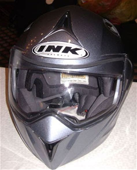 Helm Ink Silver New Helmet Helm Ink