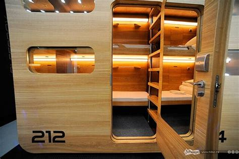 Narrow Bunk Beds capsule hotel moscow 187 retail design blog