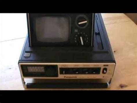 Tv Portable Panasonic portable tv panasonic tr 535 1976