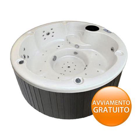 vasca spa vasca spa circolare gemma con cromoterapia