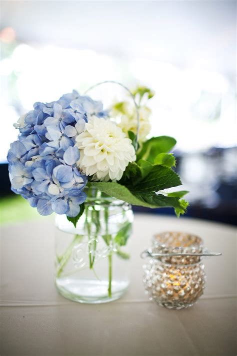 blue hydrangea centerpiece 25 best blue hydrangea centerpieces ideas on