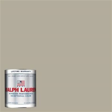 ralph 1 qt cymric silver hi gloss interior paint rl1187 04h the home depot