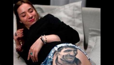 messi tattoo che lionel messi sexy hincha se tatu 243 su rostro en la nalga