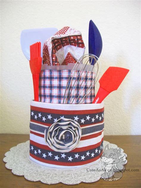 how to make a tea towel cake for bridal shower patriotic tea towel cake