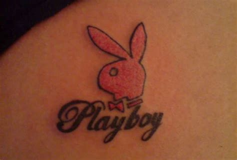 playboy bunny tattoo 19 bunny tattoos for and entertainmentmesh