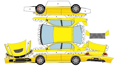 Paper Car - the print guide the paper problem no specifications