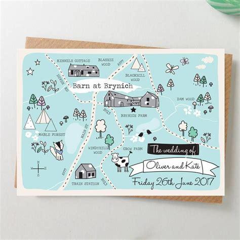 wedding invitations map best 25 illustrated map wedding invitations ideas on