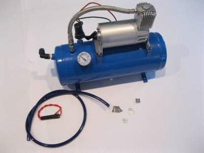 Tank 5 Win Instantly - 120psi 12 volt air compressor 1 5 gallon tank for air horns bag system ebay