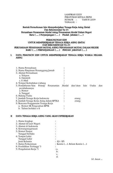 contoh surat kuasa permohonan visa wisata dan info sumbar