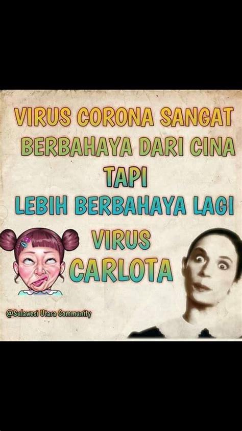 viral meme virus corona  sulawesi lebih bahaya