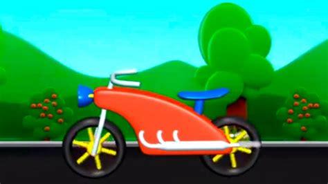 cizgi film motor build  play motorbike