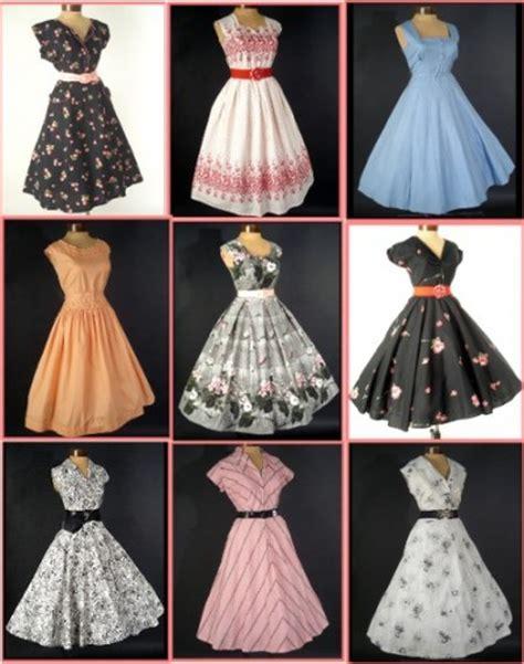 40s 50s fashion on vintage fashion 1950s