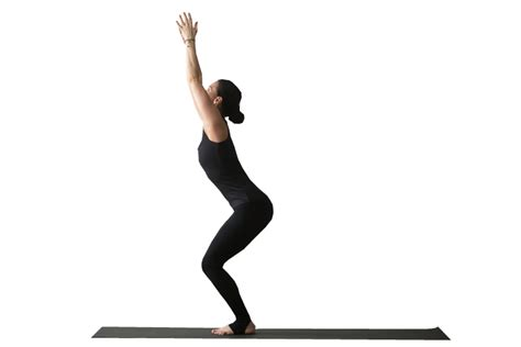 Chair Pose by Poses For Weight Loss Liwli