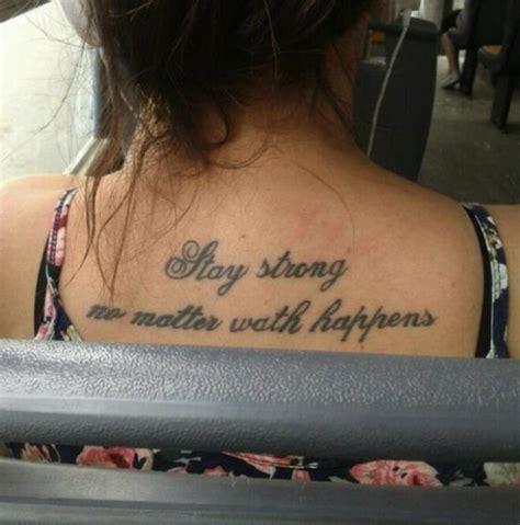 tattoo fail misspell unfortunate tattoos with misspelled words barnorama