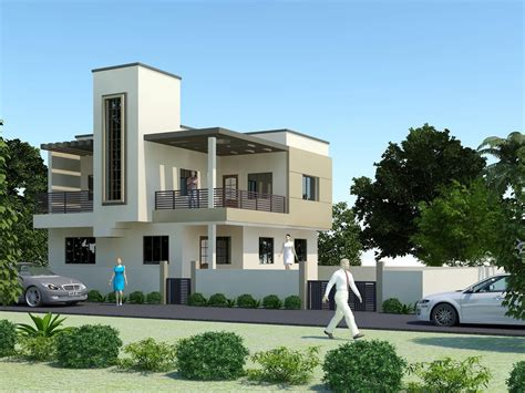 3d Front Elevation Com India Pakistan House Design 3d
