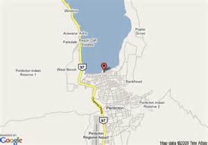 penticton canada map map of penticton lakeside resort conference ctr penticton
