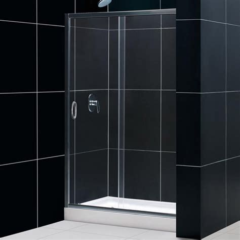 Glass Shower Door Sizes Glass Shower Door Sizes Dreamline Infinity Plus Sliding Glass Shower Door And Tray Combo