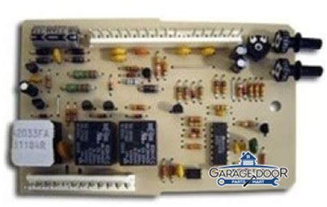 Stanley Garage Door Opener Circuit Board Model 921 3317 by Genie Garage Door Opener Replacement Circuit Board Model