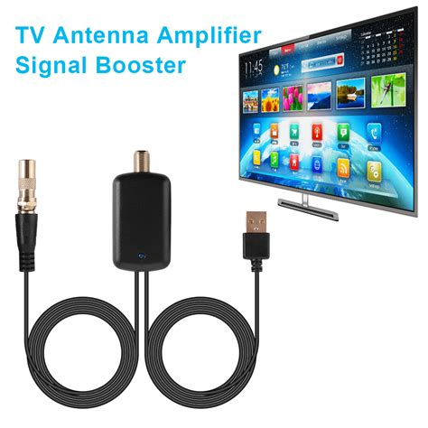 digital hdtv signal lifier booster for cable tv fox antenna hd channel ah495 4894663393939 ebay
