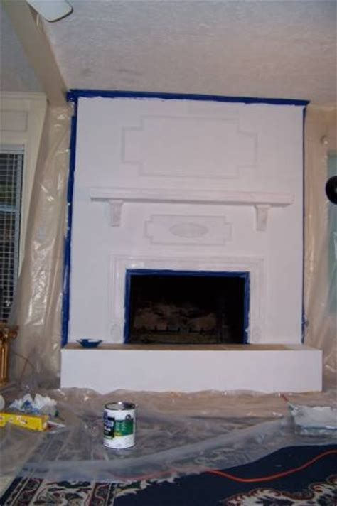 Refacing Brick Fireplace by Reface Fireplace Improvement