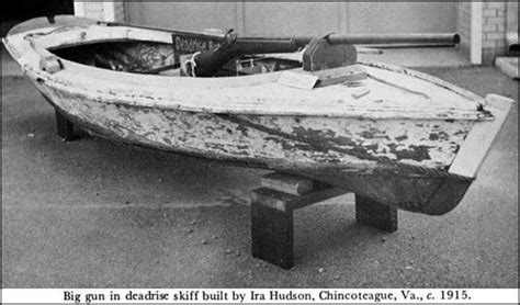 small boat used by wildfowlers the underhammer society an underhammer punt gun