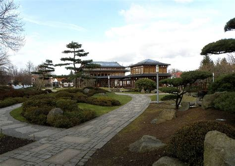 pavillon japanischer stil bad langensalza japanischer garten mit teehaus