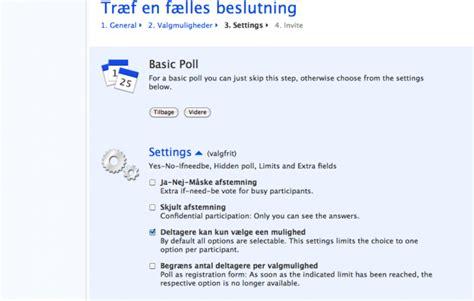 doodle poll guide doodle fremtidslaboratoriet af l 230 rere for l 230 rere