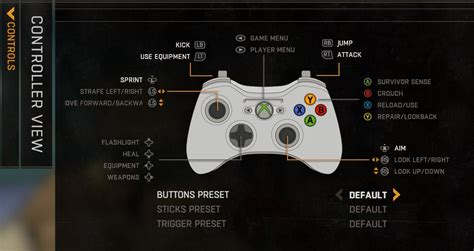 light controls dying light controls keyboard commands on ps4 xbox pc
