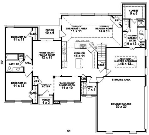 traditional floor plan fermelia traditional home plan 087d 0200 house plans and