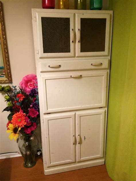 kitchen cabinet pantry unit vintage retro kitchen larder pantry unit cupboard cabinet kitchenette