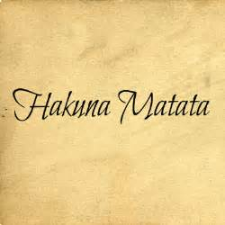 hakuna matata ii wall decals trading phrases