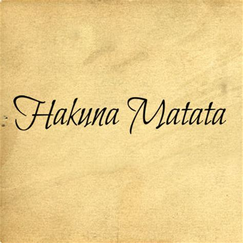 Decorating Historic Homes Hakuna Matata Ii Wall Decals Trading Phrases