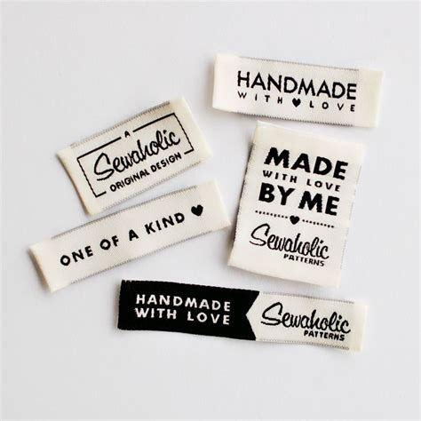 Fabric Labels For Handmade Items Uk - 25 best ideas about clothing labels on